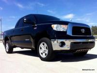 This 2008 Toyota Tundra four door Double Cab 4x4 Truck
