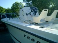 2001 Trophy center console, this watercraft has been
