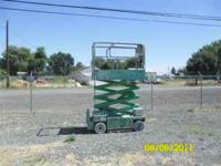 surplus manlift, works, charger, see pic, call if