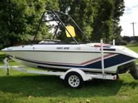 1990 19 ft. BAJA ski boat. 4.3 V6 engine, wake board