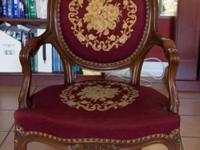 This 19th century French Louis XV design mahogany