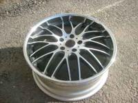 I have (1) 19x8.5 Maya STM wheel. True 2 piece, retail