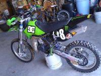 I've got a 1999 Kawasaki KX100 2-stroke. This thing