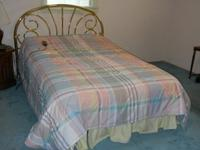 Full sized Craftmatic bed bought in 1999 but used