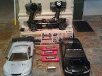 1/10 scale tamiya on road car has after market motor
