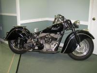 This motorcycle is being offered at absolute online
