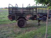 I have 2 - 1 1/2 Ton Military Cargo Trailers 900-20
