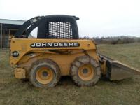 We have for sale a 2000 John Deere 250 Skid loader.