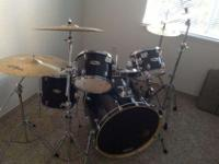 Hey so I got here a drum set that I used like four