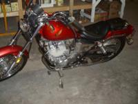 1985 Honda Rebel 8 with 7500 original miles. 250CC