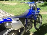 05 yamaha yz250f for sale or trade maybe.Its a 250 4
