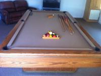 Olhausen Monarch 8' Pool Table..The Monarch is a solid