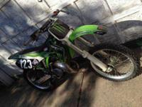 2000 great condition Kawasaki kx 125. Runs perfect!!!