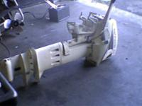 Parting out running 9.9 hp Johnson Sailmaster, Evinrude