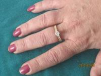 1 ct.diamond ring appraised for 2,500 asking 1,200 you