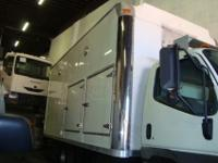 16' Supreme Reefer Body Side Door on P/S Roll Up Rear