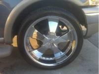 24inch 5 lug universal rims w/ tires for sale. $1000 or
