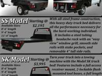TRUCKBEDS FOR ALL MAKES AND MODELS, FORD, CHEVY, DODGE,