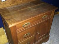 I have a dresser for sale in great condition very old .