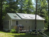 Year round camp on Black Brook in Andover for rent by