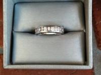 This is a beautiful diamond anniversary band. I have