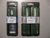 Kingston 2GB PC2-5300 CL5 240 pin DIMM kit (2pcs)