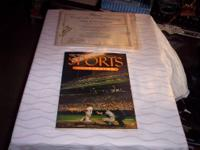 SELLING THE 1ST EDITION OF SPORTS ILLUSTRATION 1954,