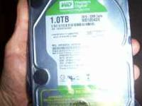 1 Tb western Digital 5.25 internal hard drive new in