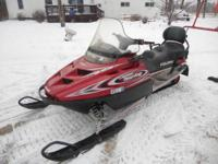 (2)-2002 Polaris Classic 500 2 Up Tourings Both have