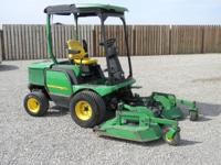 I have 2- 2008 1565 John Deere 4 wheel drive riding
