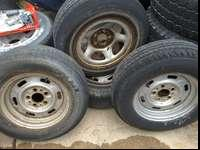 These are two 205/70R14 and two 205/75R14 Tires ... Two