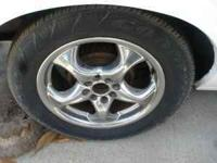 have 2 four lug universal wheels, with 3/4 tread tires