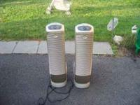 Clean good working order 2 hunter air purifiers Please