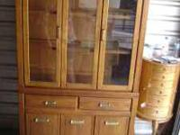 2-piece buffet, gently used.. interested call montana @