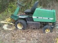 "2- used f725 front mowers for parts. one with 48"" deck"