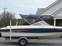 %beautiful 2007 Bayliner 185 Bowrider that is ready for