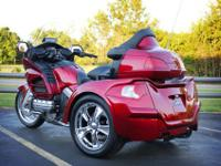 This trike runs and trips terrific and it has very low
