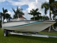 ,,,2008 Key Largo 186 bay powered by a 90hp Yamaha Four