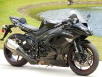 2012 Kawasaki ZX6R with 4900 miles on it. This bike is