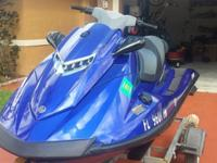 2013 Yamaha Waverunner VXR with only 30 hours . Ski is