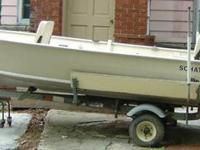 This boat is in very good condition. It was used 2 or