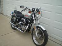 1977 Harley Davidson Sportster XLH 1000 electric start