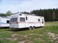 For sale a 1984 28 ft. mallard travel trailer. Sleeps