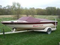 ===1988 Mastercraft Pro Star 190 Competition Ski Boat