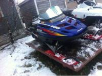 I'm looking to sell or possibly trade my snowmobile for