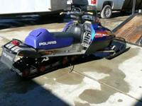 "2001 Polaris RMK 800 Snowmobile. 144"" track with 2"""