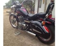 This is a 2006 Honda rebel 250. Perfect little bike for