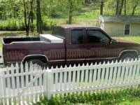 1996 SILVERADO EXT. CAB...APPROX. 200,000 MI.ON BODY,
