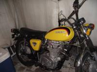 1972 HONDA CB 450 DOHC VERY CLEAN GOOD CONDITION FULLY