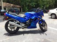I have had this 2006 Kawasaki Ninja for about four